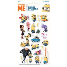 Despicable Me Minions Re-Usable Foiled Sticker Pack