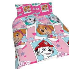 Paw Patrol Stars Pink Reversible Double Duvet Cover Bedding Set