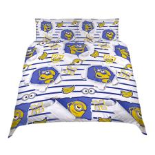 Despicable Me Awesome Reversible Double Duvet Cover Bedding Set