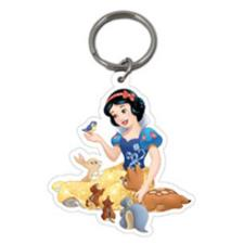 Disney Princess Snow White Plastic Key Ring