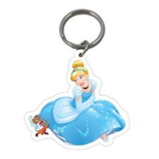 Disney Princess Cinderella Plastic Key Ring