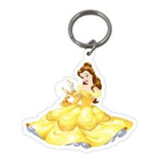 Disney Princess Belle Plastic Key Ring