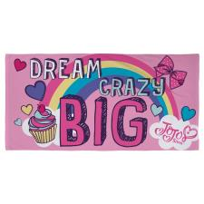 JoJo Siwa Dream Velour Beach Towel