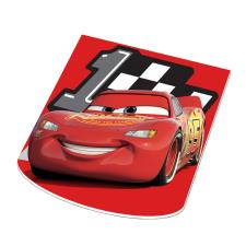 Disney Cars Lightning McQueen Shaped Memo Pad