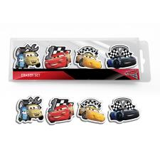 Disney Cars Eraser Set