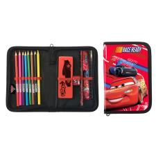 Disney Cars Single Zip Filled Pencil Case