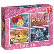Disney Princess 4 in 1 Jigsaw Puzzles