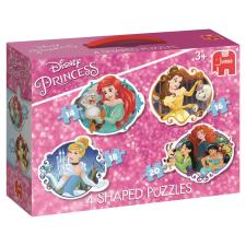 Disney Princess 4 in 1 Shaped Jigsaw Puzzles