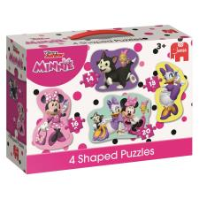 Minnie Mouse Happy Helpers 4 in 1 Shaped Jigsaw Puzzles
