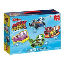 Mickey & Friends Roadster Racers 4 in 1 Jigsaw Puzzle