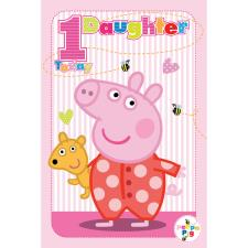 1 Today Daughter Peppa Pig Birthday Card