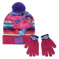 Trolls Poppy Bobble Hat & Gloves Set