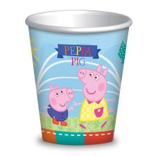 Peppa Pig Paper Party Cups (Pack of 8)