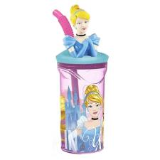 Disney Princess 3D Figurine Tumbler with Straw