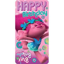 Trolls Happy Birthday Card