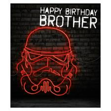 Brother Storm Trooper Star Wars Birthday Card