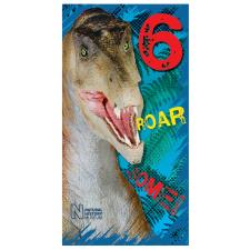 Roar-some 6th Birthday Natural History Museum Birthday Card