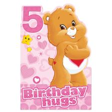 5th Birthday Care Bears Birthday Card
