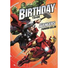Its Birthday Time Marvel Avengers Birthday Card