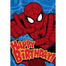 Happy Birthday Spiderman Birthday Card