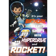 Its Your Birthday Disney Miles From Tomorrow Birthday Card