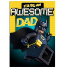 Awesome Dad Lego Batman Father's Day Card