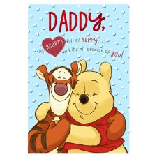 Daddy Winnie the Pooh Valentines Day Card