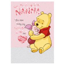 Nanna Winnie The Pooh Mother's Day Card