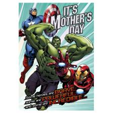 Marvel Avengers Heroes Mother's Day Card