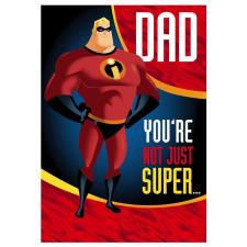 Dad The Incredibles Father's Day Card