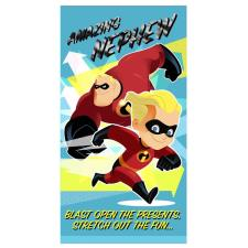 Nephew Incredibles Birthday Card