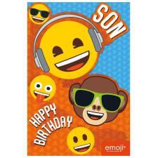 Emoji Faces Son Birthday Card