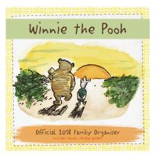 Winnie the Pooh Official 2018 Family Organiser