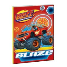 Blaze & The Monster Machines B5 Soft Cover Notebook