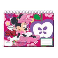 Minnie Mouse Spiral 30 Sheet Sketch Book