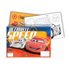 Disney Cars A4 Sketch Book With Stickers