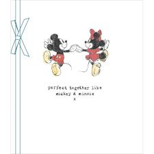 Perfect Together Mickey & Minnie Anniversary Wedding Card