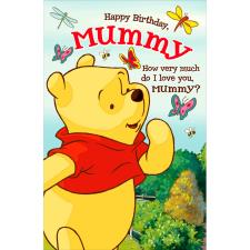 Mummy Winnie the Pooh Pop Up Birthday Card