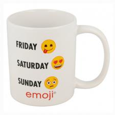 Emoji Days 11oz Ceramic Mug