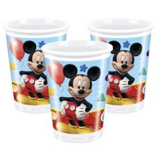 Mickey Clubhouse Plastic Cups (Pack of 8)