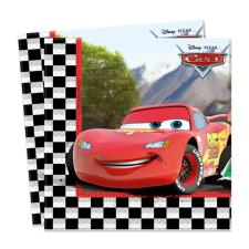 Disney Cars Chequered Flag Paper Napkins (Pack of 20)
