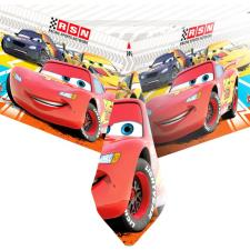 Disney Cars Chequered Flag Plastic Table Cover