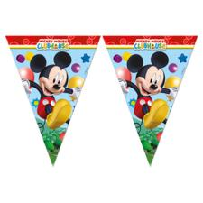 Mickey Clubhouse Triangle Flag Banner