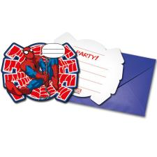 Ultimate Spiderman Invitations & Envelopes (Pack of 6)
