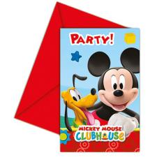 Mickey Clubhouse Invitations & Envelopes (Pack of 6)