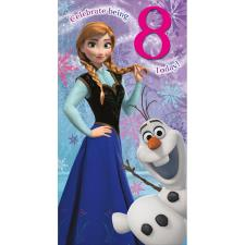 8 Today Disney Frozen Birthday Card