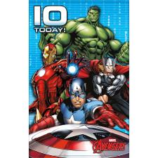 10 Today Marvel Avengers Birthday Card