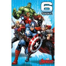 6 Today Marvel Avengers Birthday Card