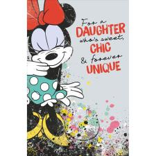 Daughter Disney Minnie Mouse Birthday Card