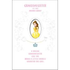 Granddaughter Belle Disney Princess Birthday Card With Magical Charm